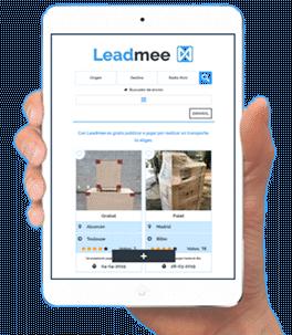 Leadmee app android ios transporte gratis